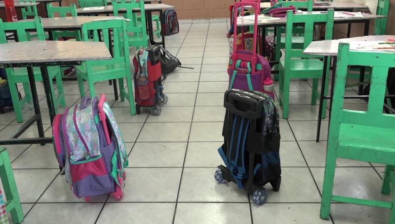 Detectan drogas y armas en escuelas secundarias de Mazatlán