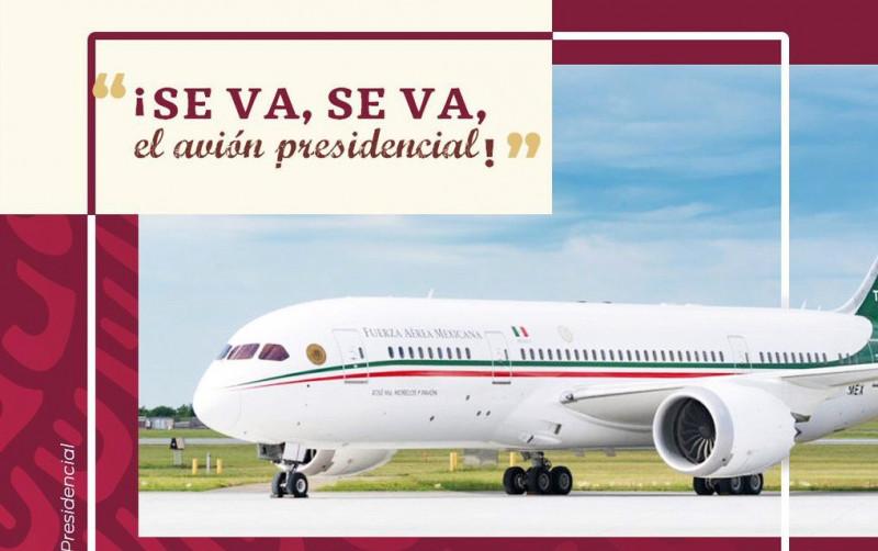 """AMLO propone la idea de """"rifar"""" el avión Presidencial"""