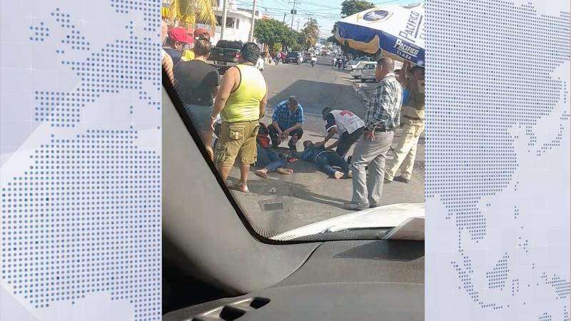 Accidente en la colonia Juárez deja dos lesionados