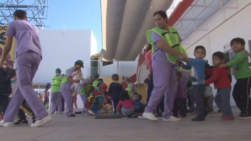 Sinaloa participó en el macro simulacro con 710 instituciones