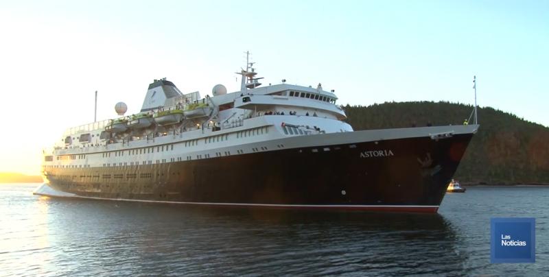 Llega a Guaymas el Crucero Asturias