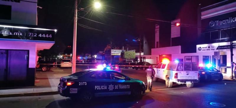 Dos muertos saldo de balacera en la Miguel Alemán
