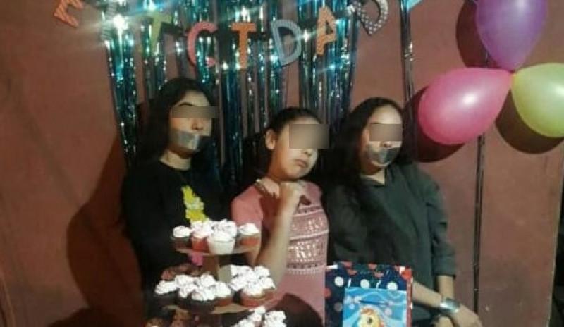 """En Culiacán, niña festeja su cumple como una """"sicaria"""""""