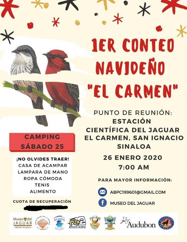 """La UAS realiza el Primer Conteo Navideño """"El Carmen"""""""