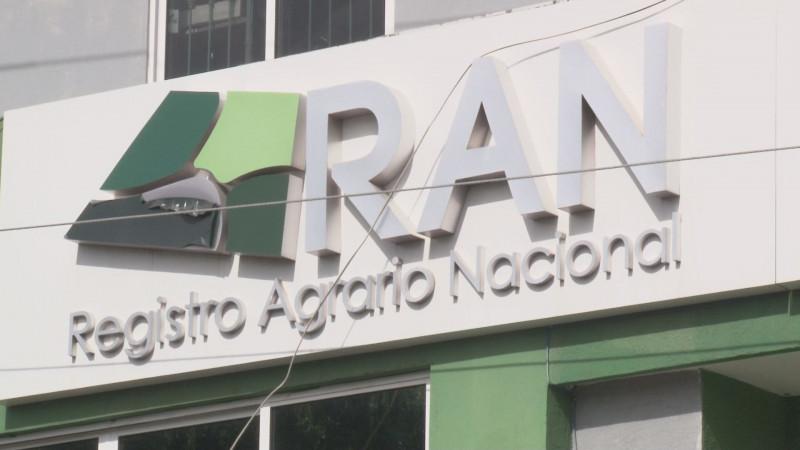 El Registro Agrario Nacional entregará este 2020 mas de 12 mil nuevos títulos de propiedad