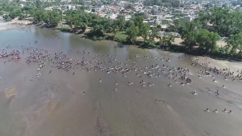 Condena el PRD la represión de la Guardia Nacional en contra de los migrantes