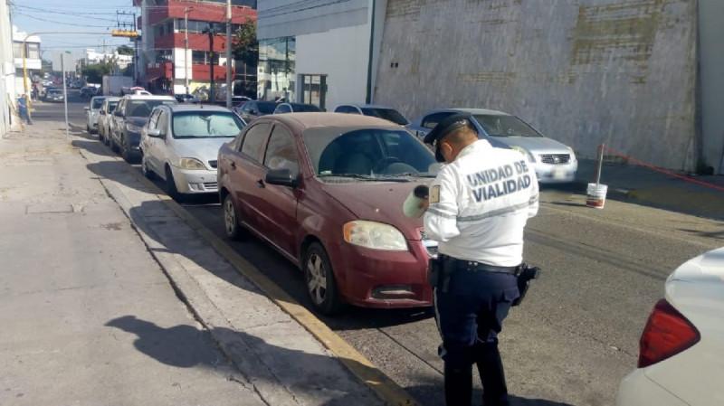 3,450 infracciones levanta tránsito a conductores que no respetan espacios azules