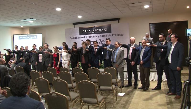 CANACINTRA Mazatlán renueva mesa directiva