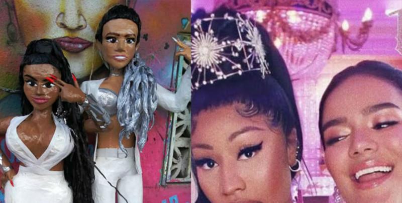 ¡Ya en México! Crean piñatas de 'Tusa', canción de Karol G y Nicki Minaj