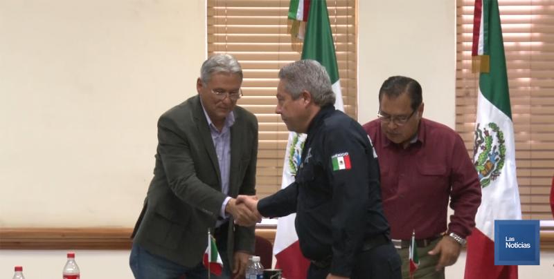 Es nombrado de nueva cuenta Francisco Cano Castro Secretario de Seguridad Publica.