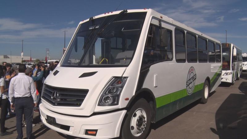 Mantendrán modernización del transporte este 2020