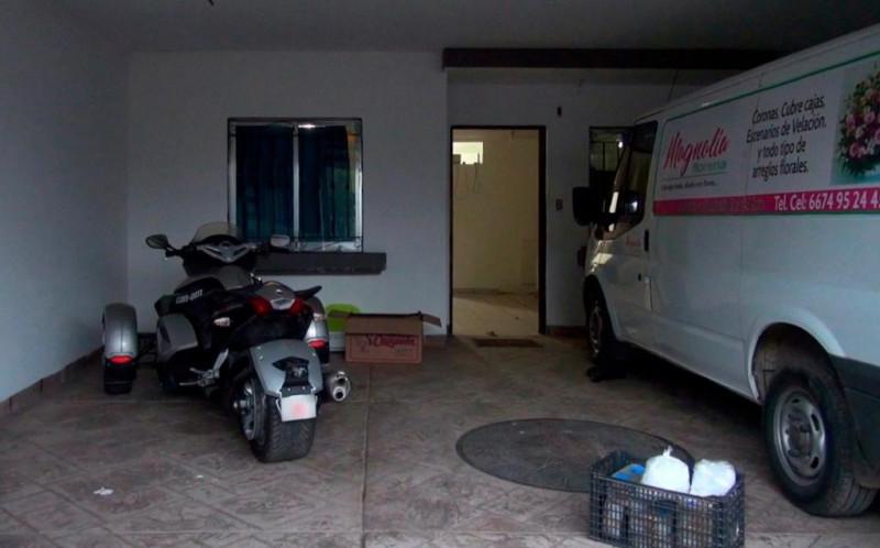Casa de Urbivillas del Sol almacenaba,  fentanilo, metanfetamina, heroína y cocaína.