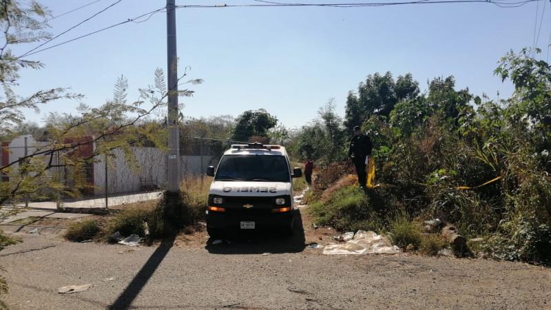 Encuentran el cuerpo de una persona asesinada  en una brecha