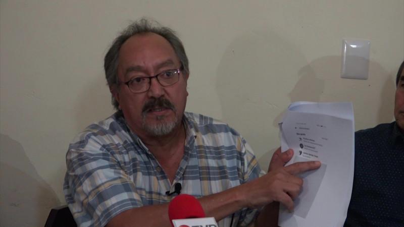 Denuncia periodista campaña de desprestigio en su contra y de su familia