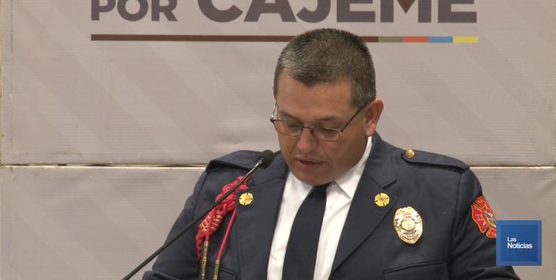 El Jefe del Departamento de Bomberos Ángel Francisco García Tellechea  hizo un llamado a sus compañeros