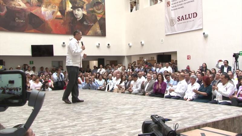 Histórico día para Mazatlán se inaugura nuevo hospital general