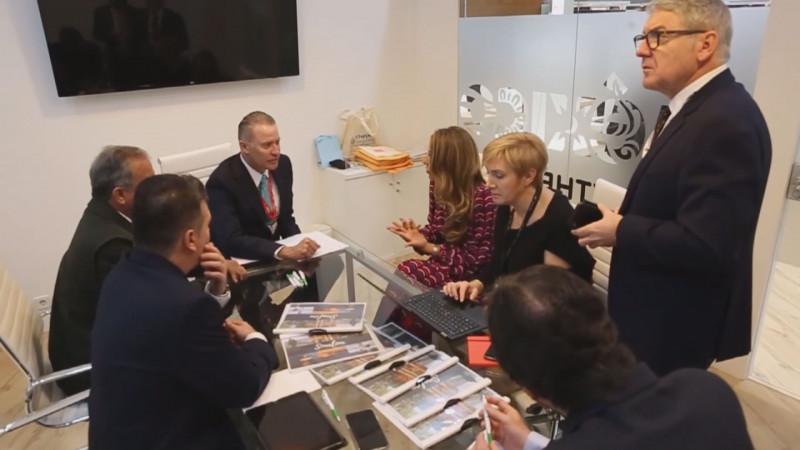 Esperan empresarios conocer resultados de la gira por España en materia de inversiones