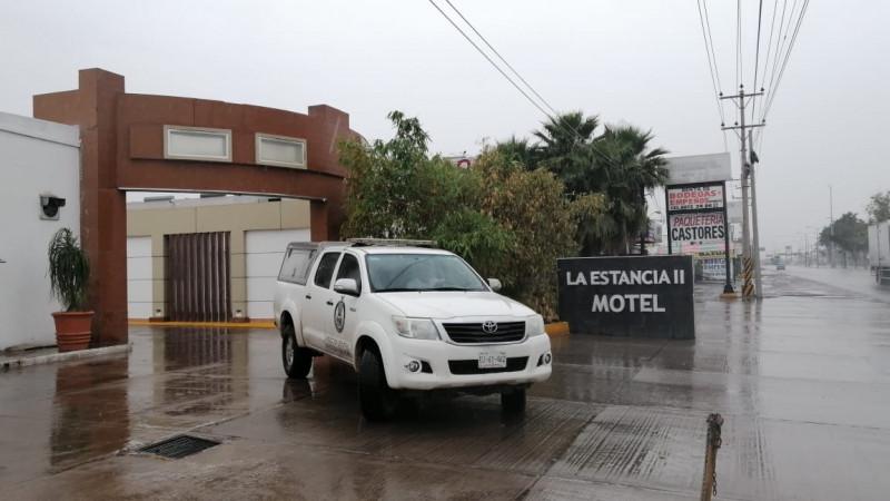 Fallece pareja al interior de un motel de paso