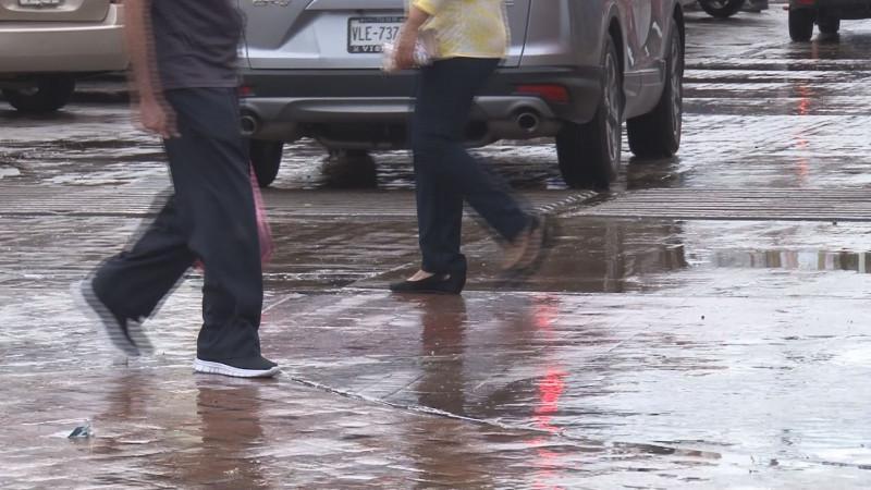 Frente frío deja lluvias en Sinaloa