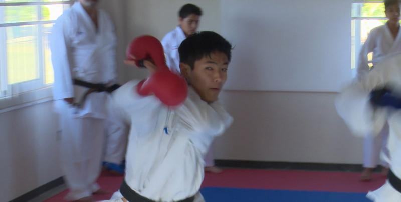 Hiroto Yoshi y Carlos González al Centroamericano de Karate