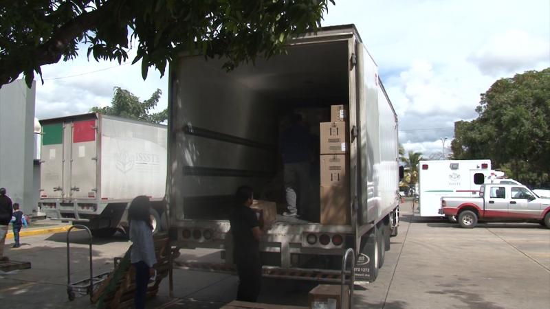 Recibe el hospital de ISSSTE en Mazatlán equipo médico