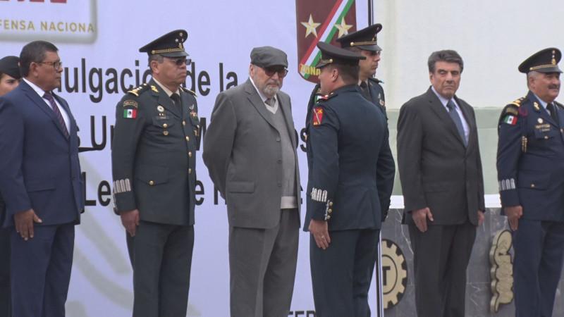 Entregan condecoraciones a elementos del Ejército Mexicano