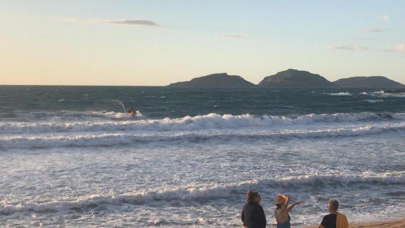 Rescatan a bañista en Olas Altas