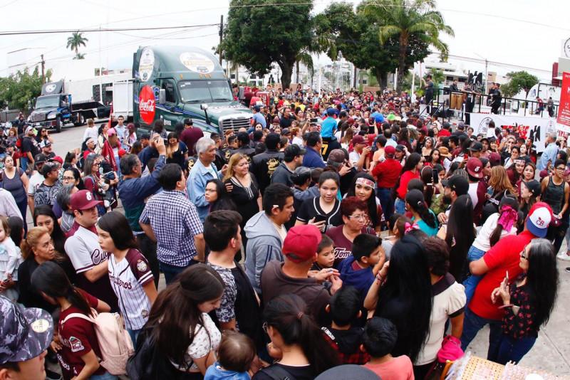 Tomateros celebra campeonato de la LMP con su afición