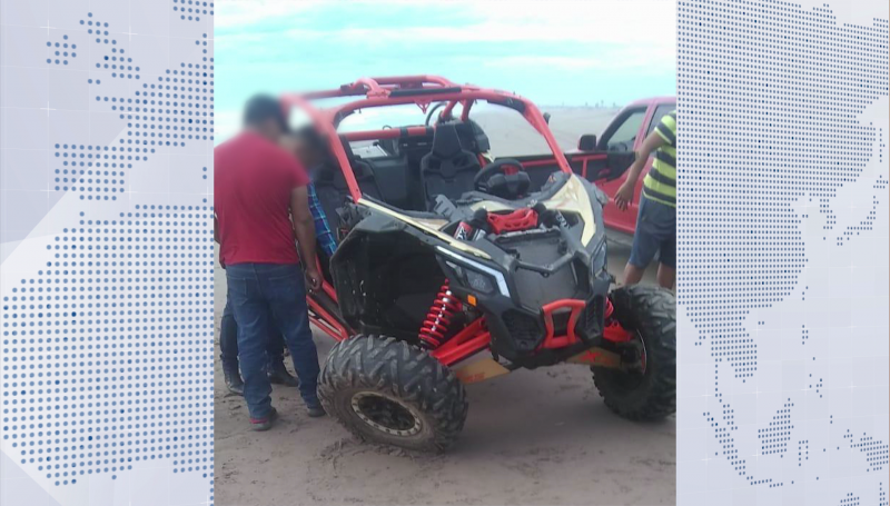 Mueren dos jóvenes en accidente a bordo de un Razer