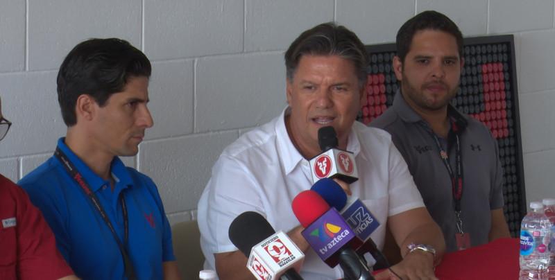 Ismael Barros es presentado como presidente de Venados