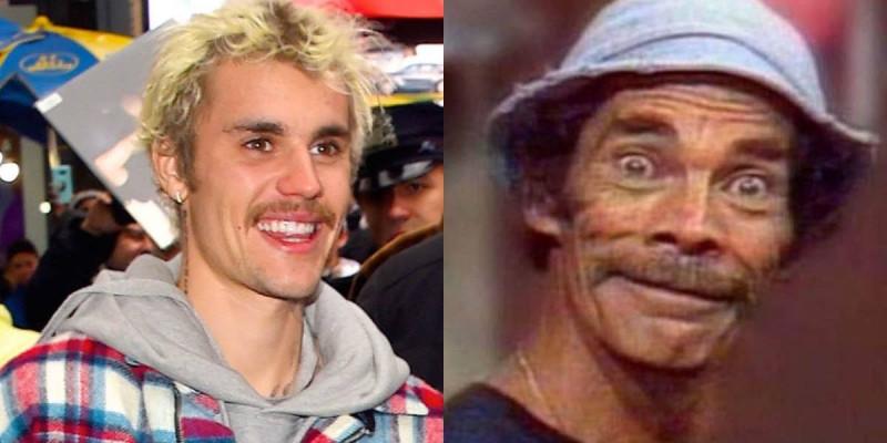 Por su aspecto, comparan a Justin Bieber con Don Ramón