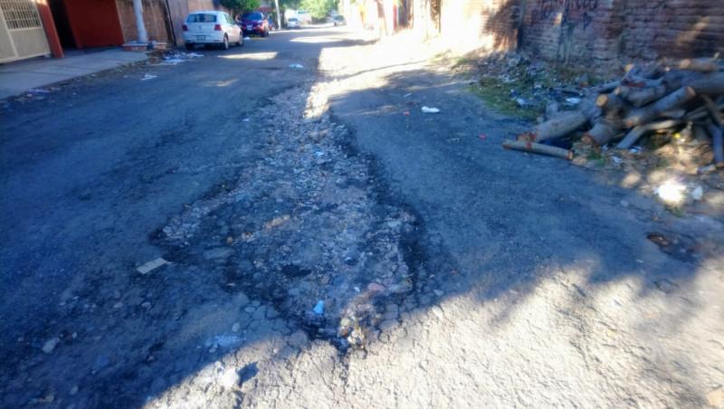 Destruida la calle Puerto de Altata