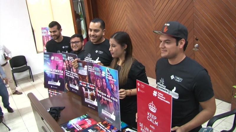 Arranca 'Fiestero Responsable' en Mazatlán