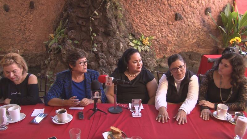Red de Apoyo a Mujeres avalan trabajo de Aracely Tirado