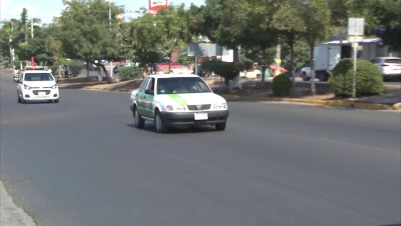 Taxistas dijeron que defenderán con todo sus áreas de trabajo