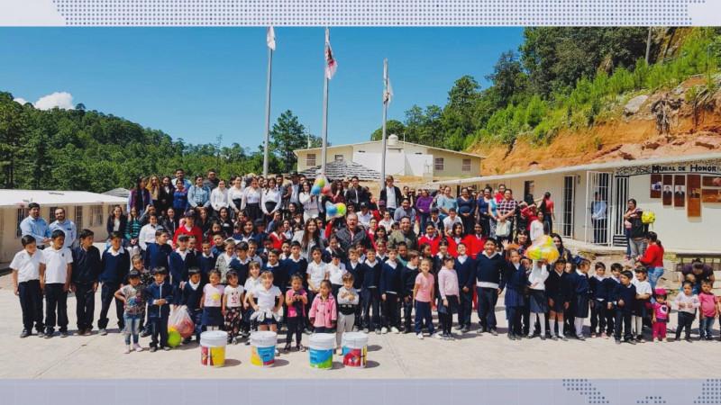 La Escuela Rural de Concentración en Santa Gertrudis Badiraguato, una de las mejores a nivel nacional en su modalidad educativa