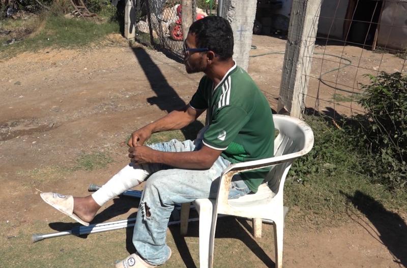 Mazatleco pide ayuda para trabajar y dar sustento a su familia