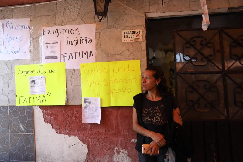 Ofrecen recompensa para ubicar al presunto asesino de la niña Fátima Cecilia