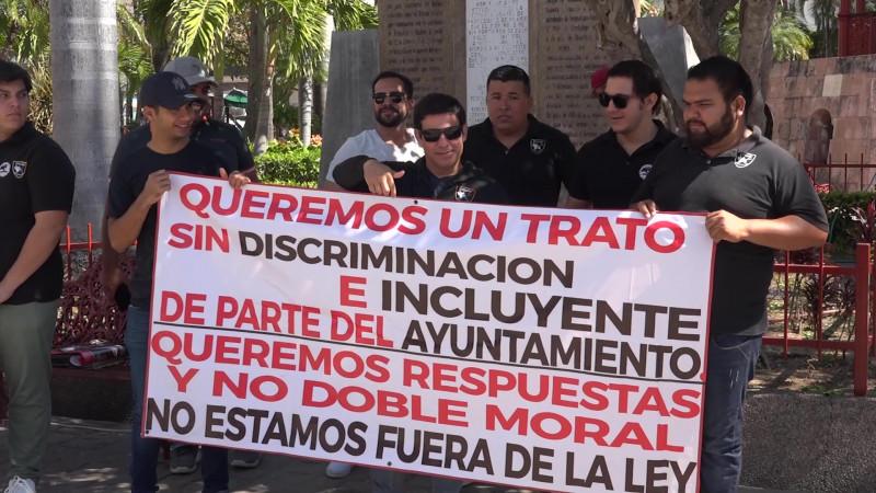 Protestan Forcados Mazatlecos al ser ignorados por el Ayuntamiento
