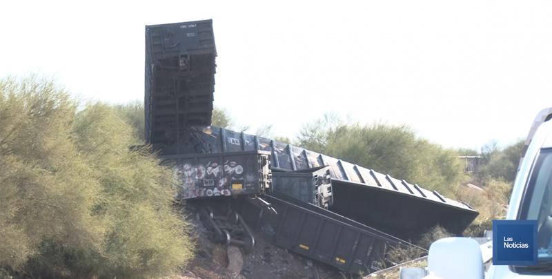 Una persona de 59 años de edad perdió la vida al descarrilar el tren de carga de Ferromex