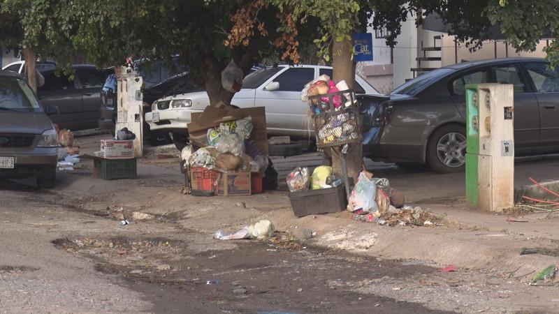 En malas condiciones y con basura la calle Cica
