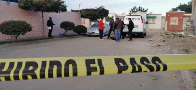 Asesinan a balazos a hombre en fraccionamiento San Luis
