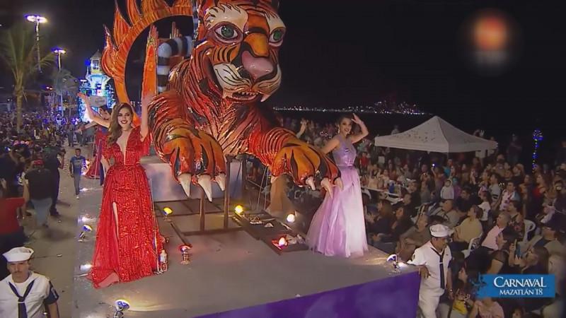 Guardia Nacional coordina seguridad en carnaval de Mazatlán
