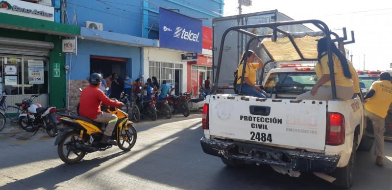 Se incendia máquina de palomitas en cine de Escuinapa