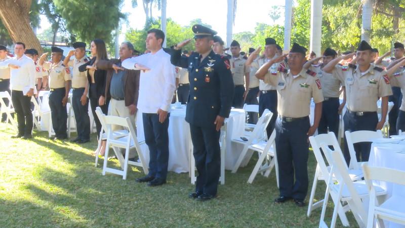 Conmemoran autoridades día del Ejército Mexicano