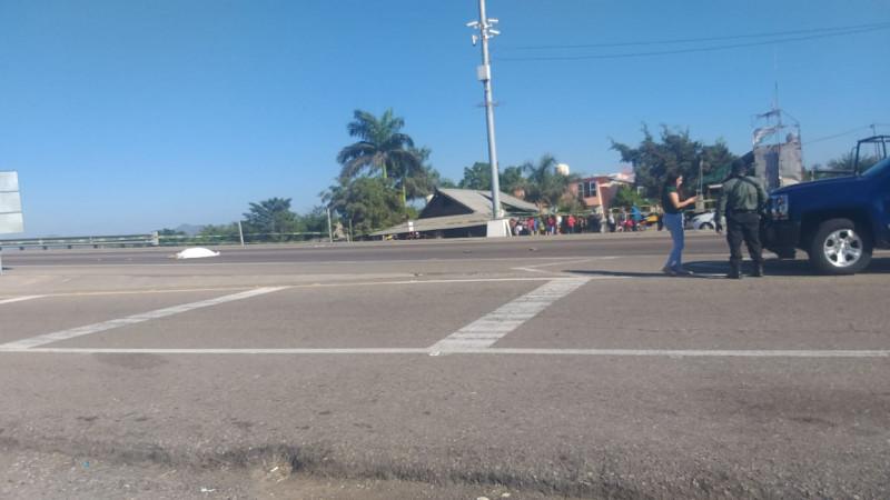 Muere mujer al ser atropellada en Villa Unión