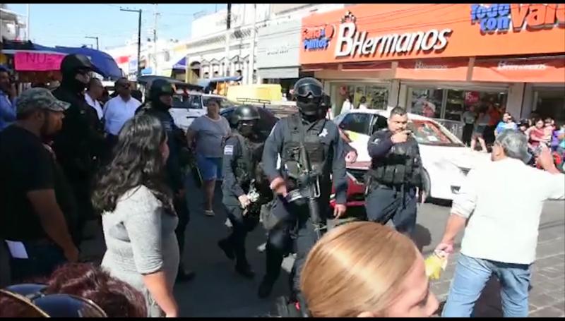 Secretario del Ayuntamiento señala que solo se siguieron protocolos de seguridad en detención de vendedores
