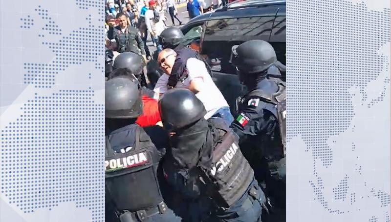 Asegura alcalde que no se usó la fuerza en detención de vendedores ambulantes
