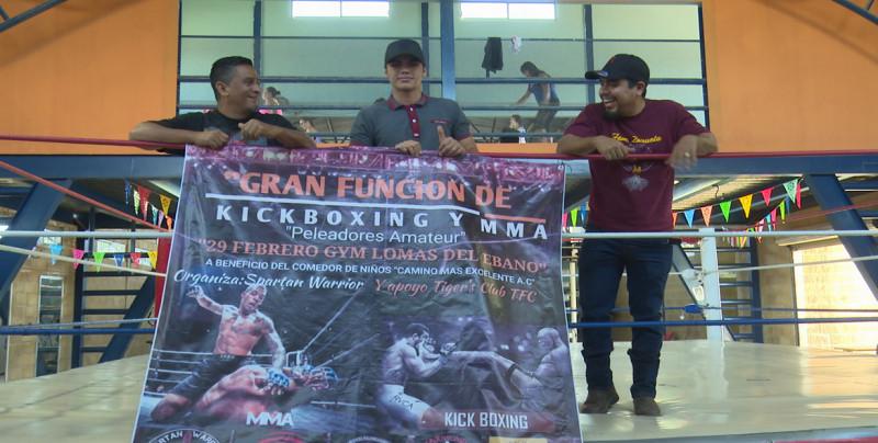 Todo listo para la Función Ameteur de Kick Boxing y MMA