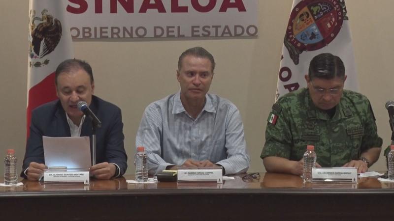 En los primeros 10 días de marzo estará en Sinaloa el Gabinete de Seguridad Nacional